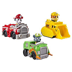 Paw Patrol Racers Marshall, Rubble & Rocky Team Pack