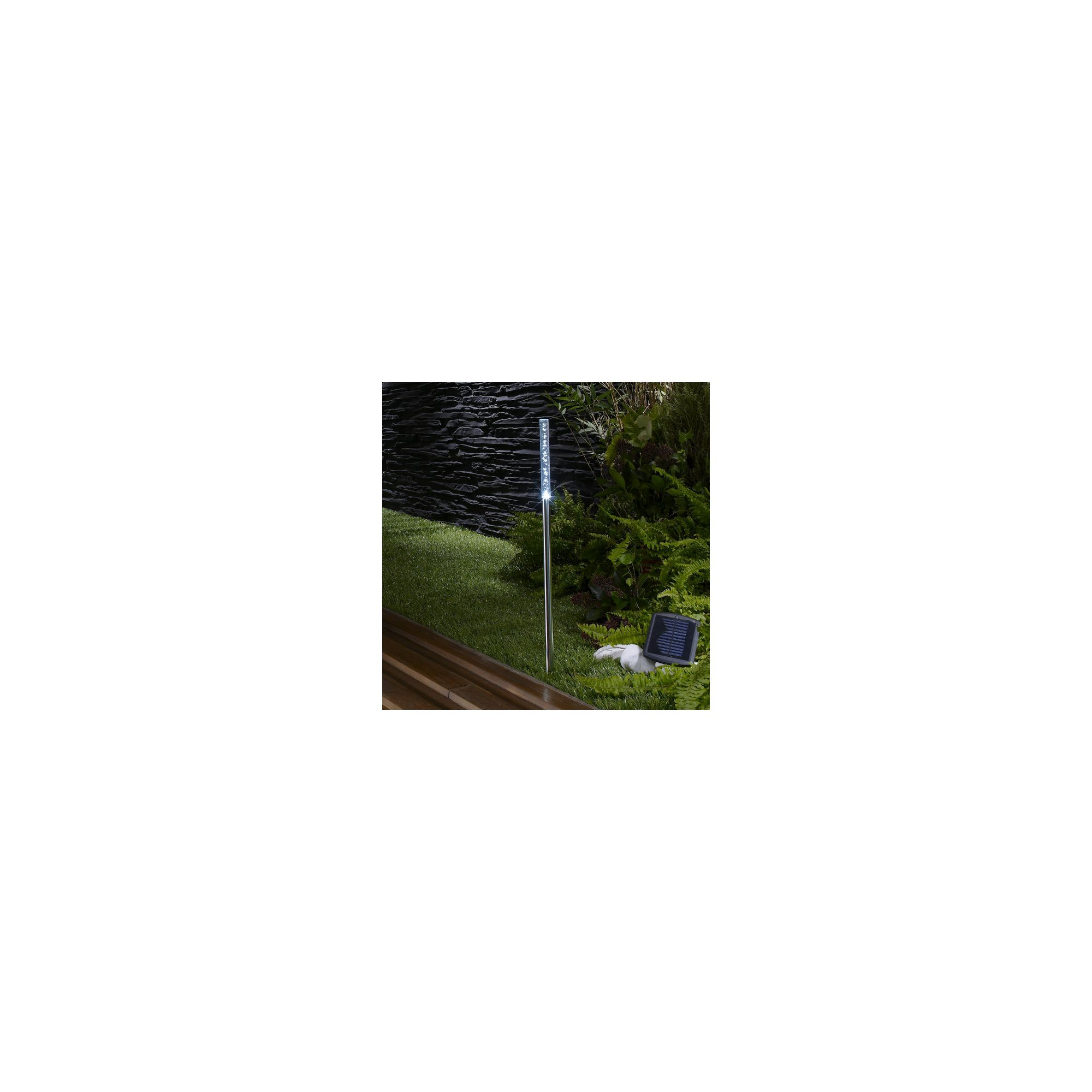 Garden solar lights tesco : Garden gt lighting the solar centre limited square decking light
