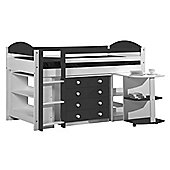 Max Cabin Bed - Graphite Grey