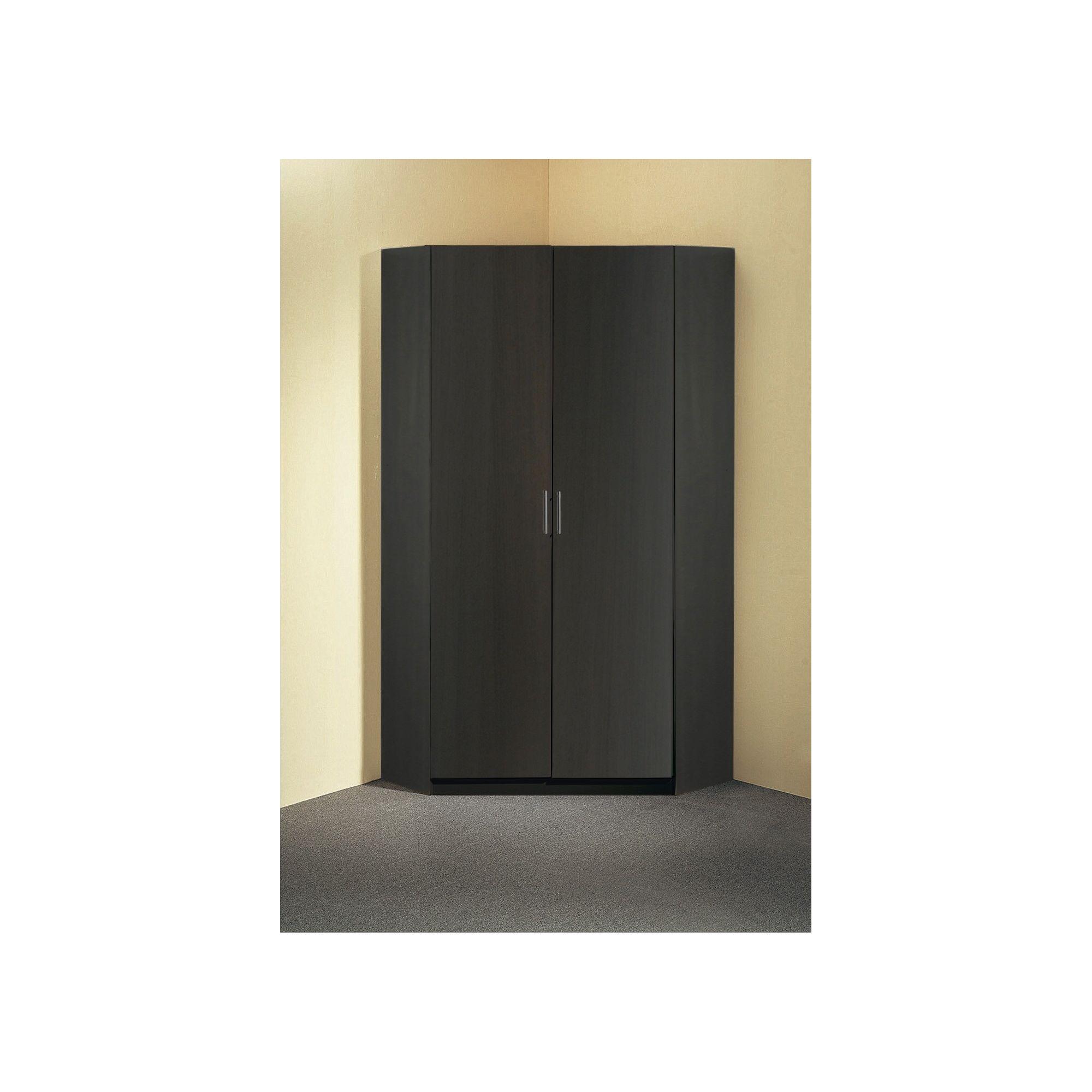 Amos Mann furniture Venice 2 Door Cornerwardrobe - White at Tescos Direct