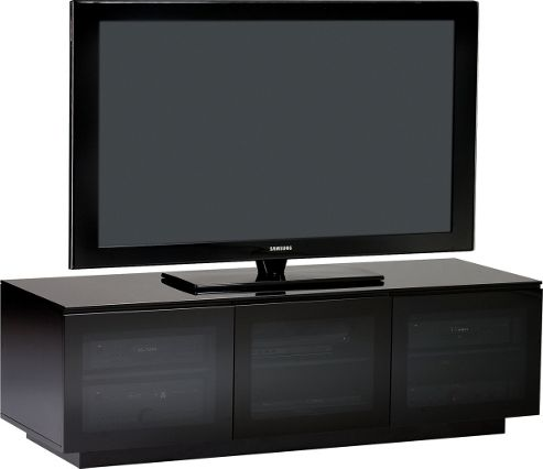 MIRAGE TV stand in black