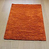 Nordic Cariboo Orange 160x230 cm Shaggy Rug