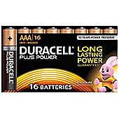 Duracell AAA Plus Power Batteries (Pack of 16)