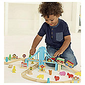 CAROUSEL 60 PIECE TRAIN SET