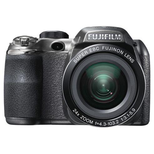 Fujifilm FinePix S4200 Digital Camera Black, 14MP 24x Optical Zoom 3.0 inch LCD screen