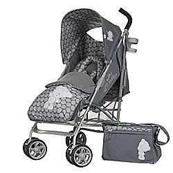 Tiny Tatty Teddy Stroller Bundle - Grey