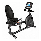 Life Fitness RS3 Lifecycle Recumbent Exercise Bike with Track+ Console