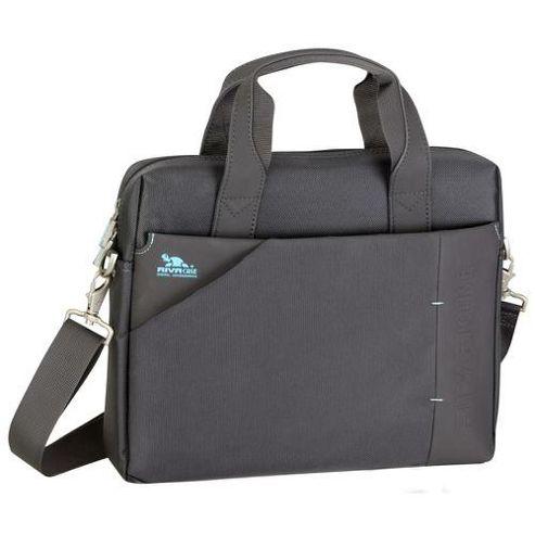 RIVACASE 8120 13.3 Inch Laptop Bag, Dark Grey