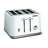 Morphy Richards Aspect 240003 4 Slice Toaster - White
