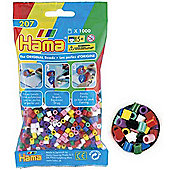 Hama Beads 1,000 - Solid Mix