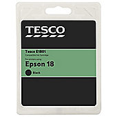 Tesco Epson T1801 Black  Daisy