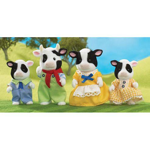 Sylvanian Families - Fresian Cow Family