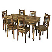Elements Jaitu 175cm Dining Table Set