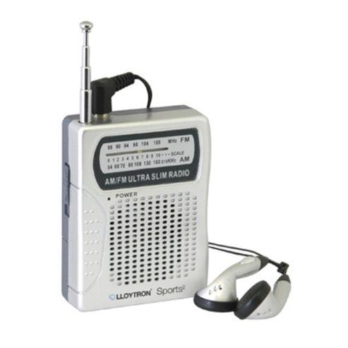Lloytron N2001SV Sports2 AM/FM Personal Radio