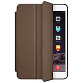 Apple Aniline-dyed Leather Smart Case (Olive Brown) for iPad Mini