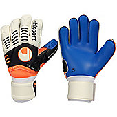 Uhlsport Ergonomic Aquasoft Bionik+ Goalkeeper Gloves - White
