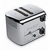 Rowlett Rutland Esprit 2 Slice Bread Toaster - Polished Stainless Steel
