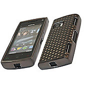 iTALKonline 17478 ProGel Diamond HEX Skin Case - Nokia X6 - Solid Black