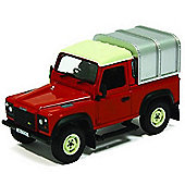 Britains 1:32 Land Rover Defender 90 With Canopy (Red)