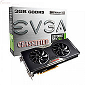 EVGA GT780 CLASSIFIED WITH ACX COOLING 993MHz/1046MHz 6008MHz 3072MB 384-bit GDDR5 DVI-I DVI-D HDMI DP PCI-E GRAPHICS CARD