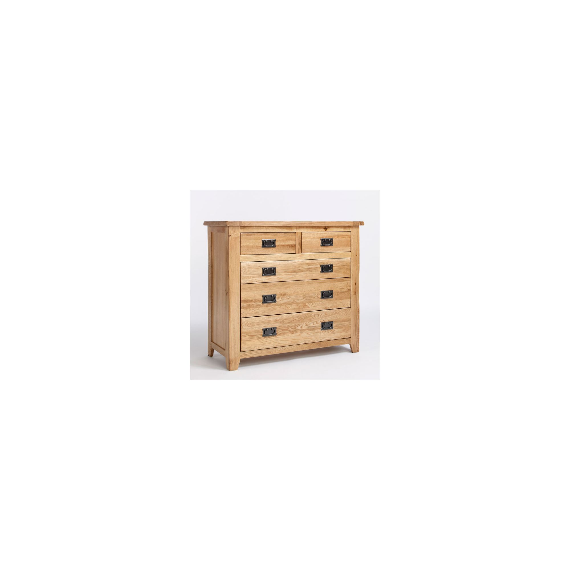 Ametis Westbury Reclaimed Oak Two Over Three Drawer Chest at Tescos Direct
