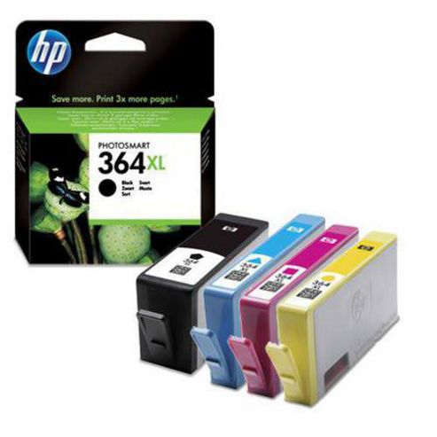 Hewlett-Packard Original Ink Cartridges to Replace HP364XL (Pack 4) - Cyan / Magenta / Yellow / Black