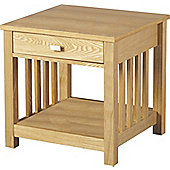 Value by Wayfair Freesia One Drawer Side Table