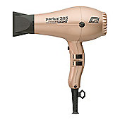 Parlux 385 Powerlight Hair Dryer Light Gold