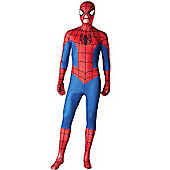 2nd Skin Marvel Spiderman Costume - ADULT - MEDIUM - Fancy Dress - Rubies