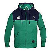 Canterbury Ireland Rugby Full Zip Hoody 16/17 - Green - Green