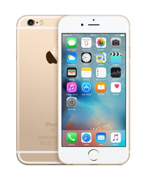 Tesco Mobile iPhone 6s 64GB Gold