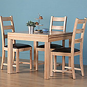 Altruna Rayleigh Natural 5 Piece Dining Set