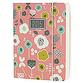 Go Stationery A6 Diary Floral