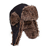 Mountain Warehouse Walking Hiking Ski Skiing Warm Furry Hat - Black