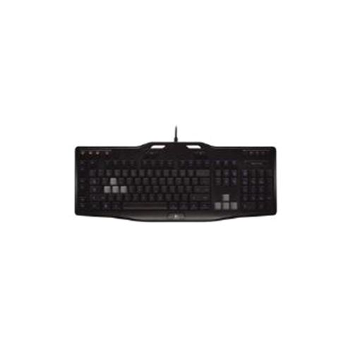 Logitech G105 Gaming Keyboard (Black) - UK English