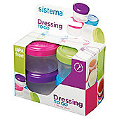 Sistema Dressing To Go Pots