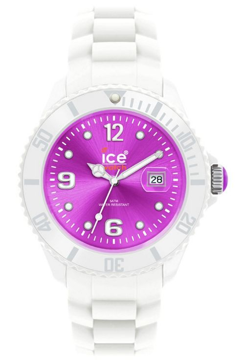 Ice-Watch Unisex Sili White Watch SI.WV.U.S