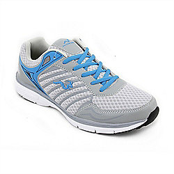 Woodworm Sports Mfs Mens Running Shoes / Trainers Grey/Blue Size 6