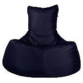 Big Bertha Original™ Indoor / Outdoor Tallback Chair Bean Bag - Navy