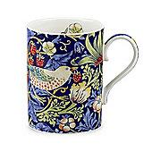 Royal Worcester Morris & Co Strawberry Thief Mug, Indigo