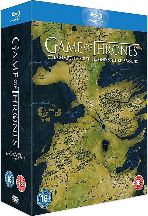 Game Of Thrones Season 1-3 - (Blu-Ray Boxset)
