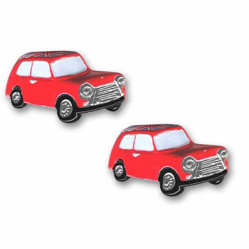 Union Jack British Mini Car Cufflinks