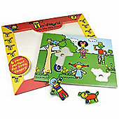 Toddworld 6 Piece Push Out Puzzle A Day In the Park