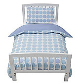 Baroo Cot Bed Duvet Cover & Pillowcase Set (Blue Polka)