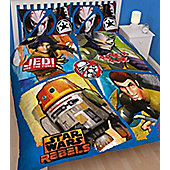 Star Wars Rebels Panel Double Duvet - Tag