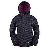 Mountain Warehouse Haraz Womens Hydrophobic Down Jacket - Black