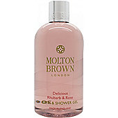 Molton Brown Delicious Rhubarb and Rose Bath and Shower Gel 300ml