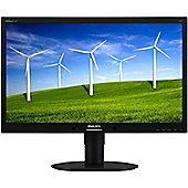 "Philips Brilliance 220P4LPYEB 55.9 cm (22"") LED Monitor - 16:10 - 5 ms"