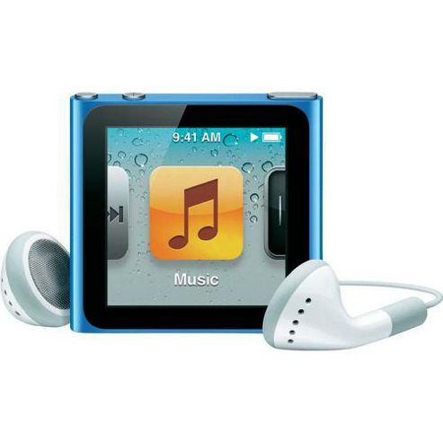 Apple MC695QG/A iPod Nano 16 GB 6th Gen - Blue