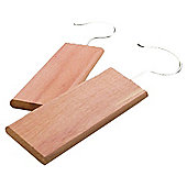 Russel Cedar Wood Hanging Moth Repellent Blocks - 2 Pack